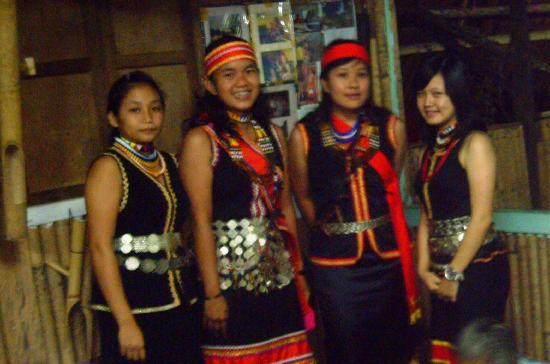 Annah Rais Longhouse Adventure: bidayuh tribal costumes