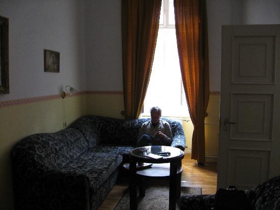 Aranyhajo Fogado : sitting area of room
