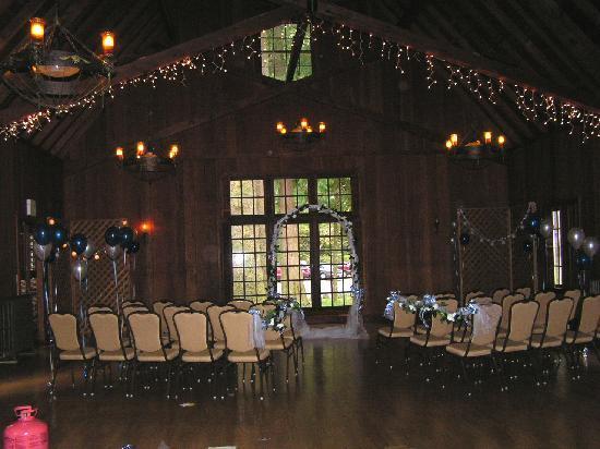 Lake Quinault Lodge The Ballroom Ceremony