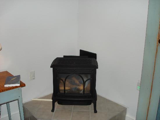 Murphin Ridge Inn: Gas fireplace