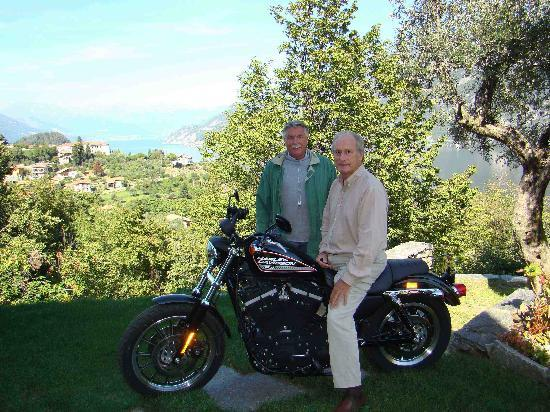 B&B Home Sweet Home: Fred and I with the Harley