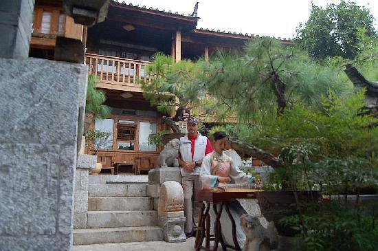 Zen Garden Hotel (Wuyi Yard): Morning music