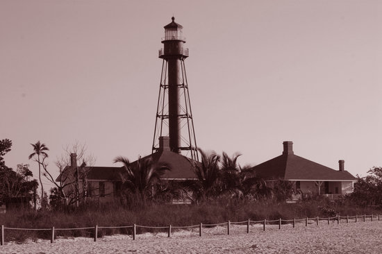 Isla de Sanibel, FL: Sanibel Lighthouse