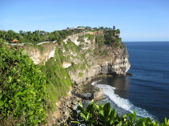 Pecatu, Indonesien: Uluwatu view from the other end