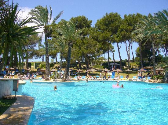 Exagon Park: pool area