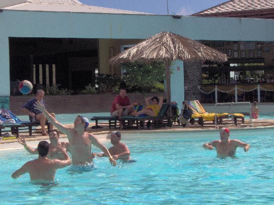 Le Manganao Hotel Club Paladien: Partie de water polo