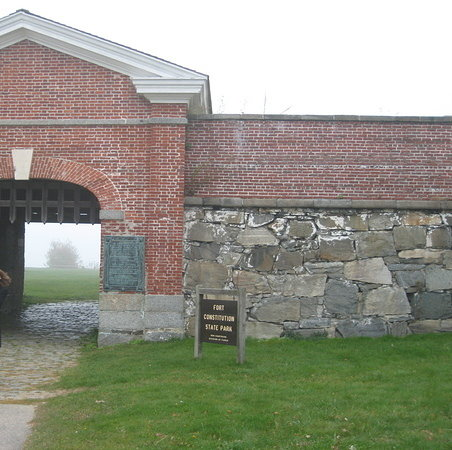 Fort Constitution Historic Site : Fort Constitution entrance