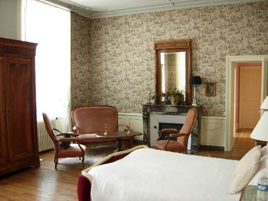 Chateau de la Buronniere: Another view of our room