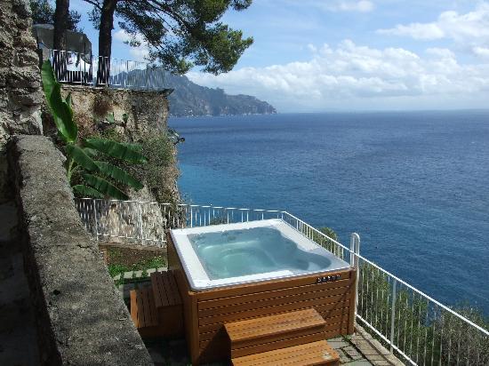 Villa Santa Maria: The Jacuzzi