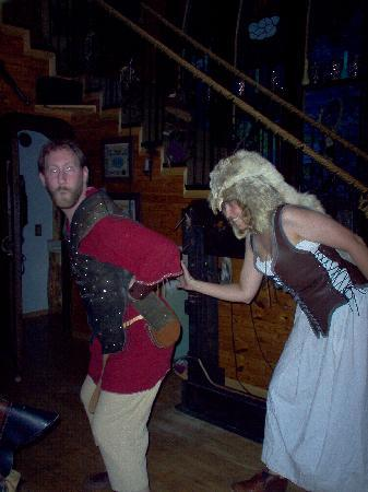 Nordic Inn Medieval Bed and Breakfast: Crazy Wife