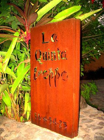 La Quinta Troppo: The sign to look for