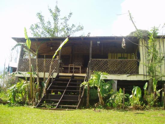Posada La Bonita: Main cabin where you eat and relax
