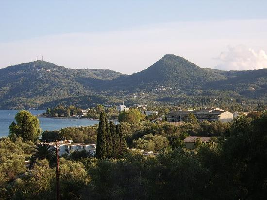 Miramare Beach & Spa Corfu: View from balcony