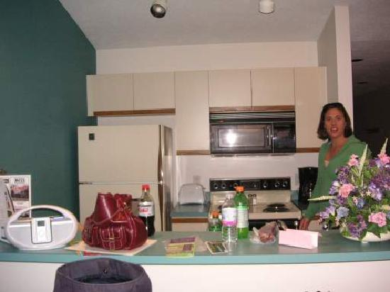 The Beach Condominiums Hotel - Resort : kitchen - we made the mess