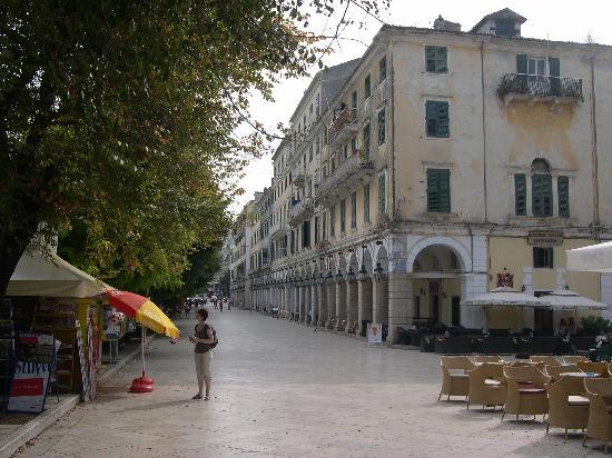 the liston corfu town