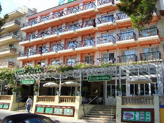 THB Felip Class: Hotel Felip - Frontage