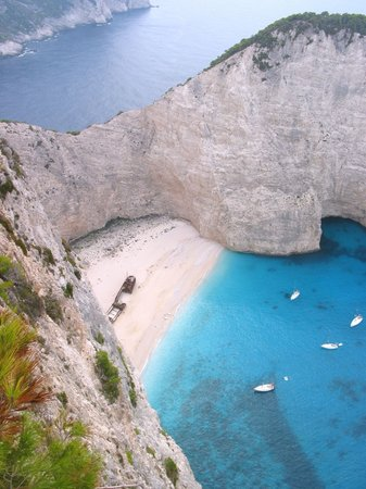 Zakynthos, Greece: Shipwreck Bay