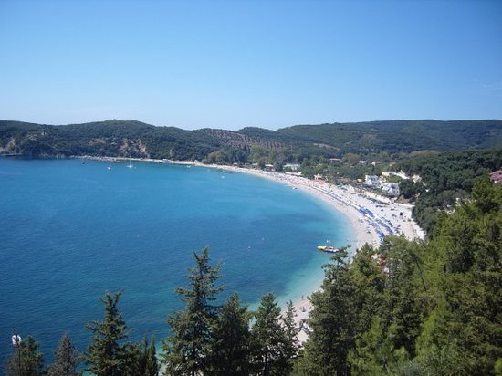 Parga, Greece: Valtos Beach