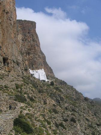 Monastery of Panagia Hozoviotissa (Grace of Panagia -Virgin Mary): Amorgos monastery