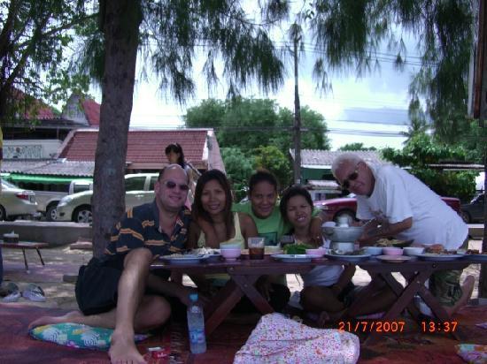 Kata Beach: Lunch at Rawai