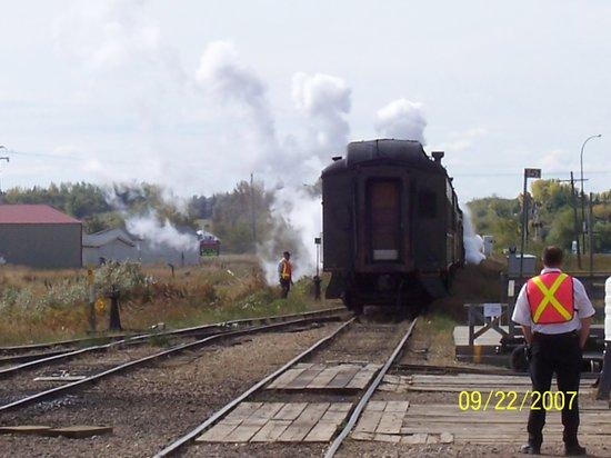 Stettler, Canada: The steam engine
