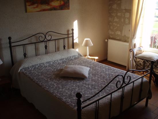 Auberge de Crissay: la chambre