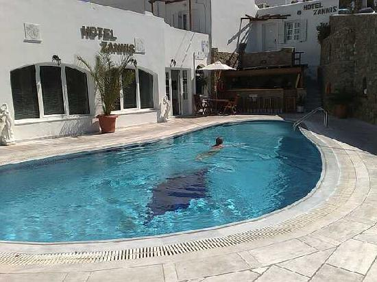 Hotel Zannis : Pool area