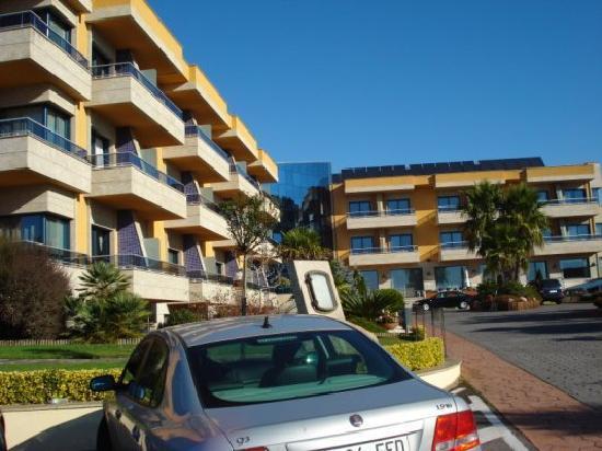 Hotel Spa Galatea: Fachada 1