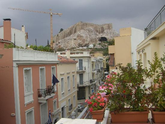 AVA Hotel Athens: view to right