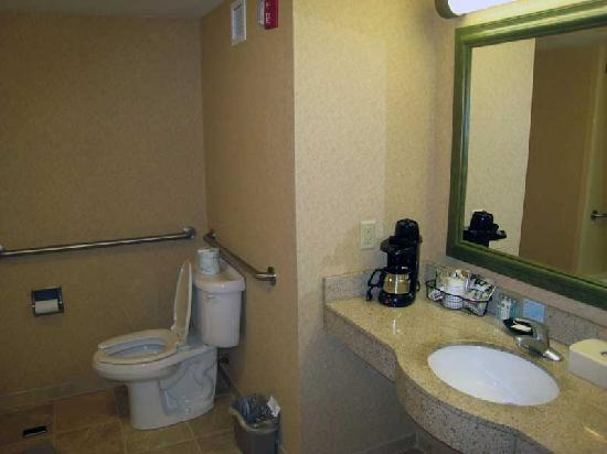Hampton Inn & Suites Greenfield: Bathroom