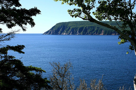 Pulau Cape Breton, Kanada: view near Keltic Lodge