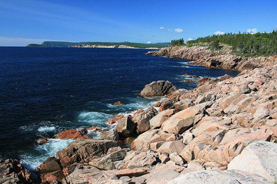 Cape Breton Island, Canada: View near Ingohish