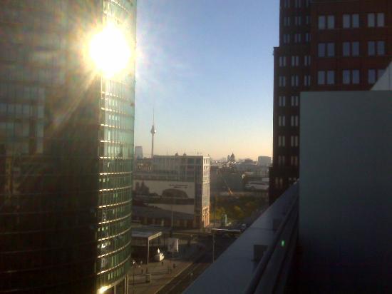 The Mandala Hotel: view from my balcony