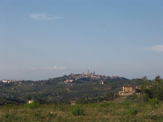 Agriturismo Fattoria Il Piano: view of san gim