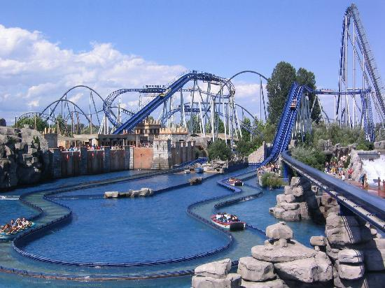 "Hotel ""El Andaluz"" Europa-Park: A nice view towards the Silver Star...a kick ass ride..."