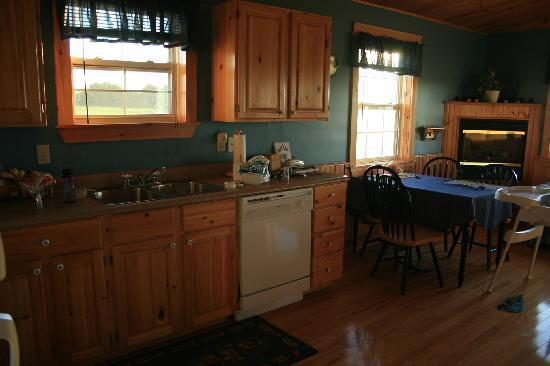 Dreams to Sea Cottages: kitchen