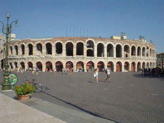 Verona, Itália: The arena