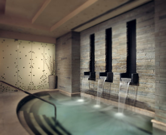 Allegria Spa: The amazing Aqua Sanitas water sanctuary.