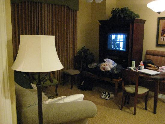 analog tv with a dvd and vhs player picture of wyndham grand rh tripadvisor ie Living Room TV Wall Ideas Living Room Television