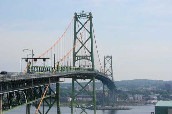 Halifax, Canada: bridge to Dartmouth