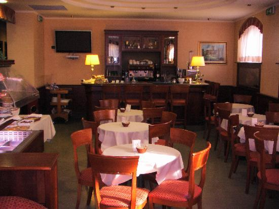 Hotel Traiano: Breakfast Room