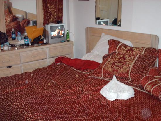 Hotel Gloriana & Spa: bed