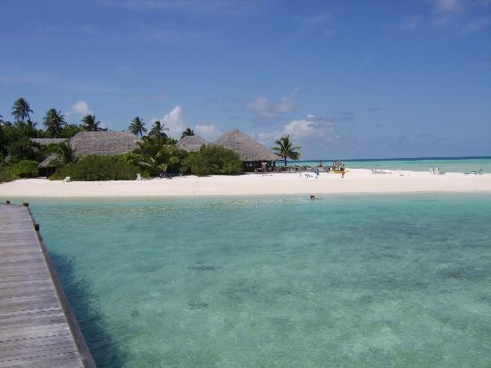 Meeru Island Resort & Spa : view from asian wok