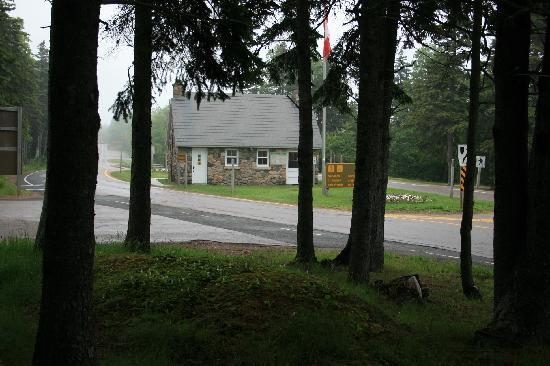 Cape Breton Island, Canada: Entrance to Cape Breton Highland National park