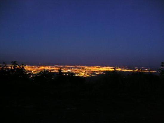 Vista de San Miguel de Tucuman desde el cerro San Javier