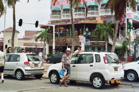 Palm - Eagle Beach, Aruba: Downtown Oranjestad