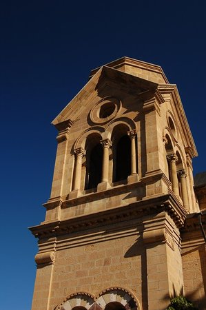 Santa Fe, NM: St. Francis Cathedral tower
