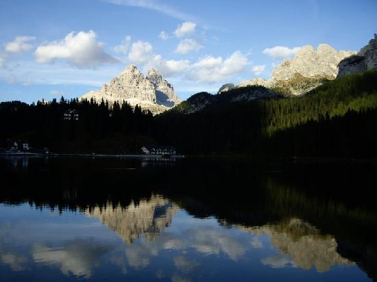 Misurina, Italia: View from our room