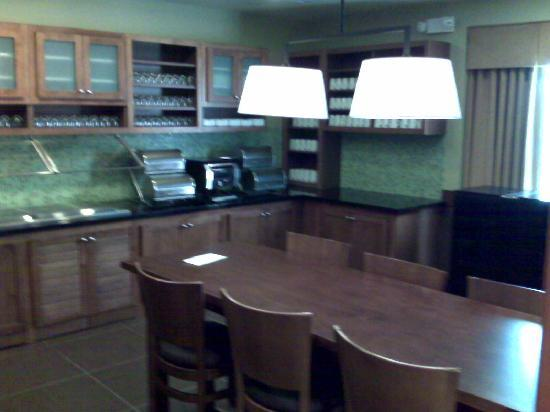 Hyatt Place Sacramento/Rancho Cordova: Breakfast Area