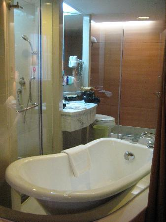 Tong Mao Hotel: Bathroom Close-Up View